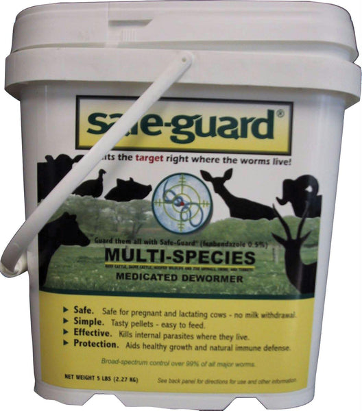 Safe-guard 0.50% Multi-species Dewormer - aomega-products