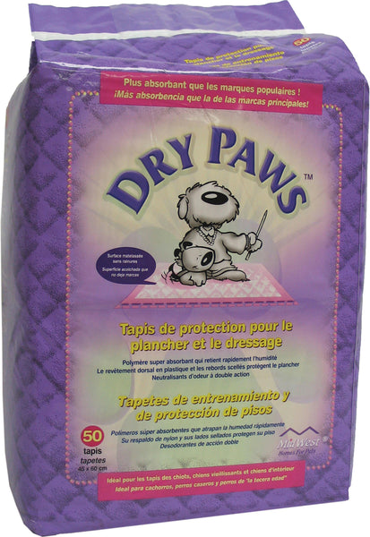 Dry Paws Training Pads - aomega-products
