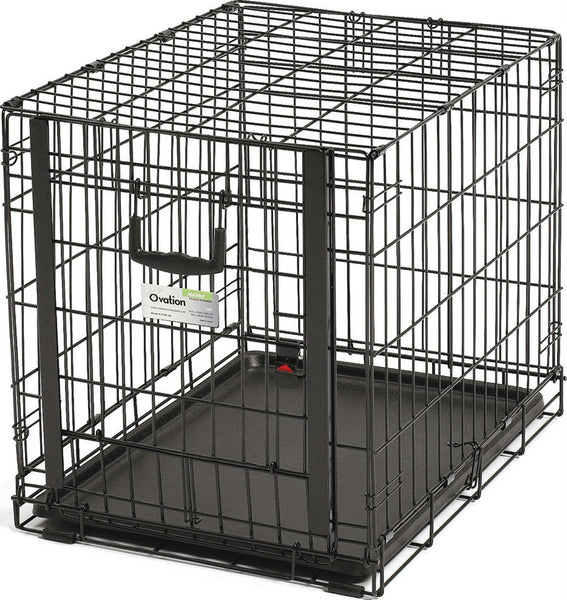 Ovation Single Door Crate W- Up & Away Door - aomega-products