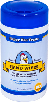 Happy Hen Antibacterial Hand Wipes - aomega-products