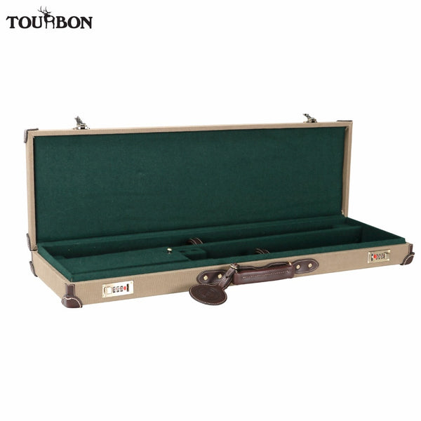 Tourbon Tactical Universal Gun Case Hunting Gun Storage Rifle Shotgun Carrier with Lock Gun Accessories - aomega-products