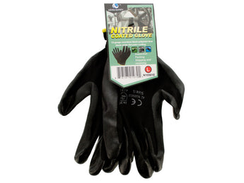 Nitrile Coated Gloves - aomega-products