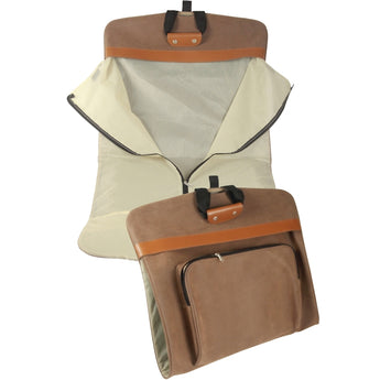 Faux Suede Garment Bag - aomega-products