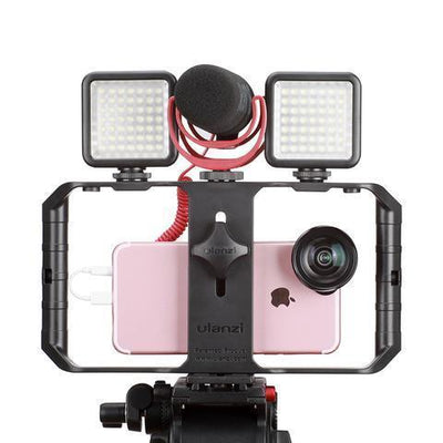 SMARTPHONE VIDEO RIG - FILMMAKING VIDEO STABILIZER STAND Stabilizers Jeebel CE Store
