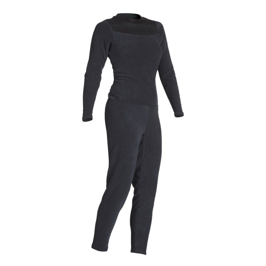 Women's thickweight union suit for outdoor sports