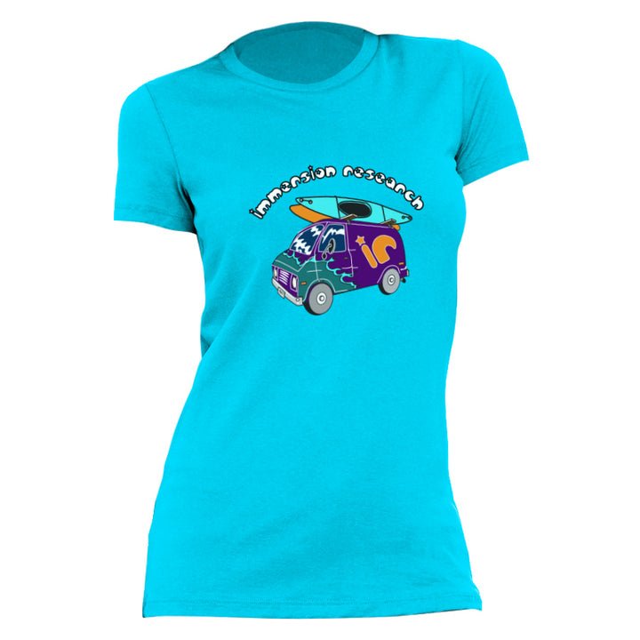 Women's short sleeve immersion research branded tee shirt