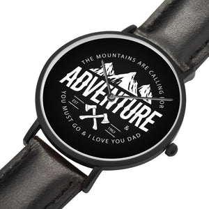 Father's Day Gift 2020, Adventure Citizen Customized Watch Personalized Gift For Dad