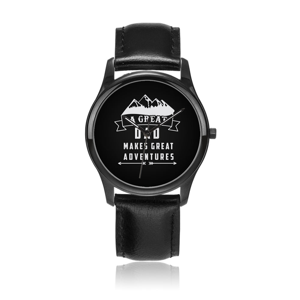Father's Day Gift 2020, Great Adventures With Dad Watch Personalized Gift For Dad