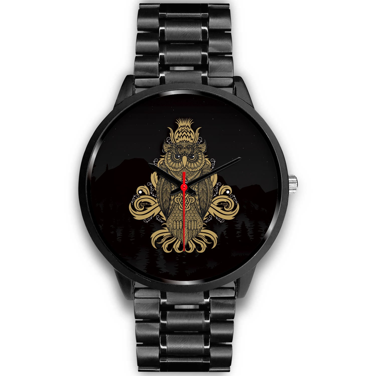 Customized Black Watch