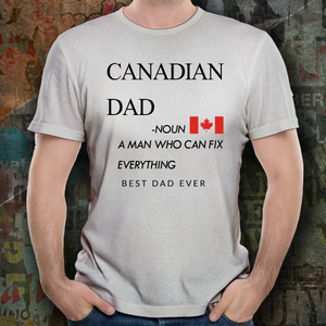 Father's Day Gift 2020, Custom T-Shirt Personalized Gift For Dad!