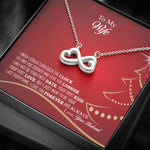 Amazing Infinite Love Pendant Necklace Christmas Gift For Wife