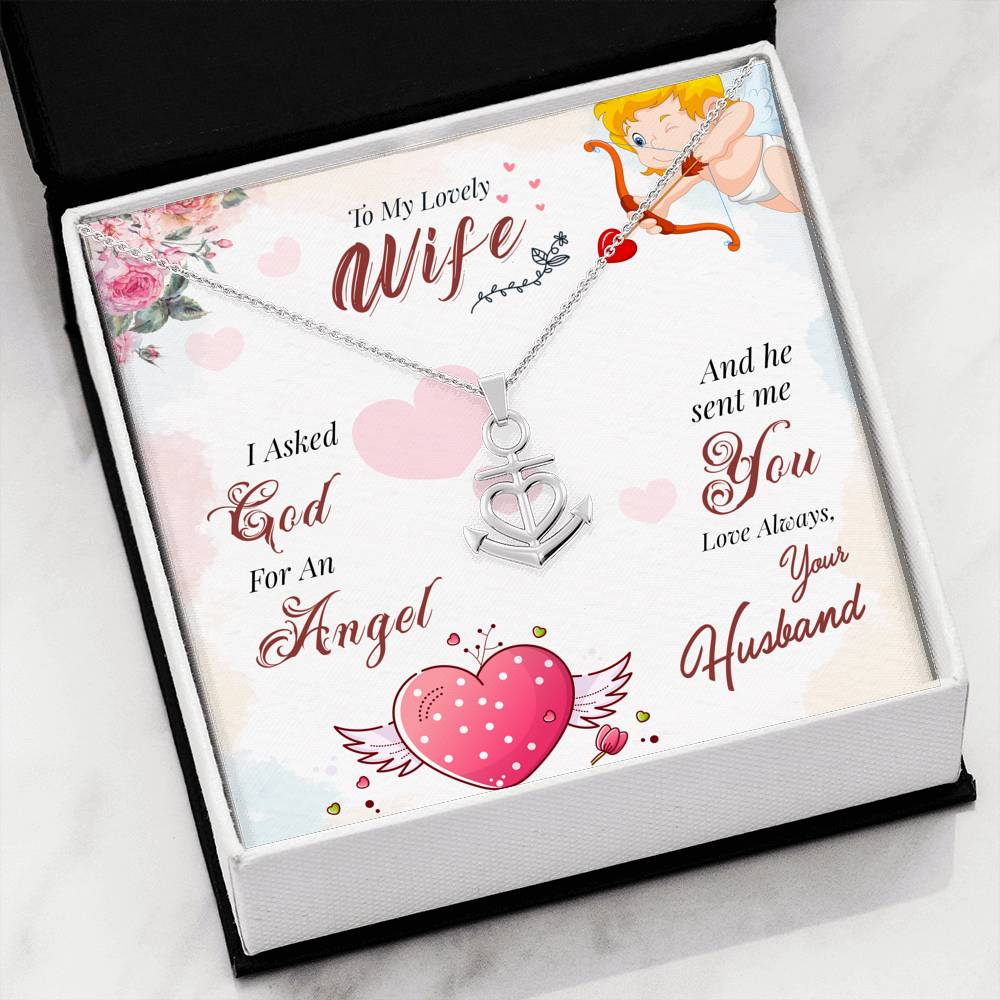 To My Angel Wife With My Heart - goldenandvintage-