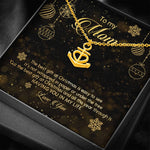 Anchor Love Pendant Necklace Christmas Gift For Mom