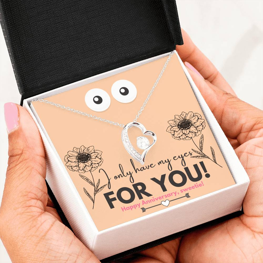 Amazing Anniversary Forever Love Pendant Necklace Gift!