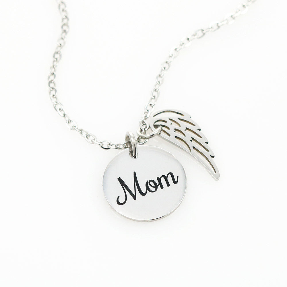 Amazing Love Wing Pendant Necklace Birthday Gift For Mom From Daughter!