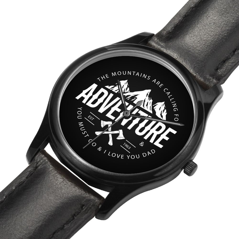Father's Day Gift 2020, Custom Adventurist Watch Personalized Gift For Dad