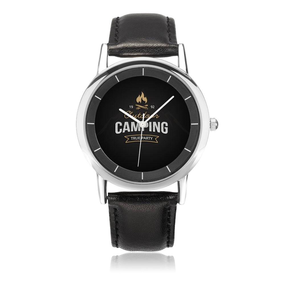 Father's Day Gift 2020, Amazing Customized  Camping Water Resistance Wrist Watch Personalized Gift For Dad