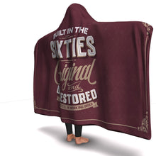 Load image into Gallery viewer, 1960s Celebration Luxury Hooded Blanket