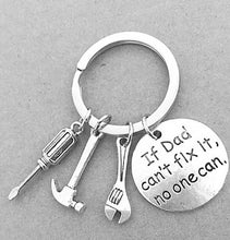 Load image into Gallery viewer, Engraved Key Ring with Loving Message