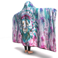 Load image into Gallery viewer, King of the Jungle Luxury Hooded Blanket