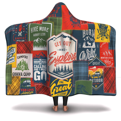 Outdoors Lovers - Luxury Hooded Blanket
