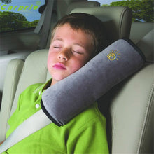 Load image into Gallery viewer, Seat belt pillow for neck and shoulder comfort