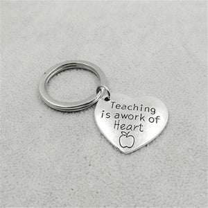 Engraved Key Ring with Loving Message