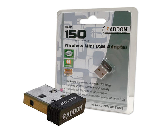 Addon 11n 150Mbps Wireless Nano USB Adapter - ADD-WL-USB/MICRO