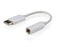 Cablexpert USB Type-C Plug To Stereo 3.5mm Audio Adapter Cable 15CM - CB-CM-JK/F