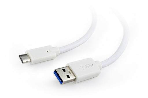 Cablexpert USB 3.0 AM to Type-C Cable 1.8M White - CB-USB3-CM/1.8WHT