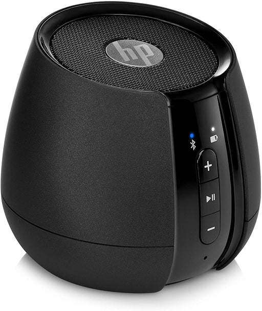 HP S6500 Bluetooth Wireless Mini Speaker - Black - CM-HP-S6500