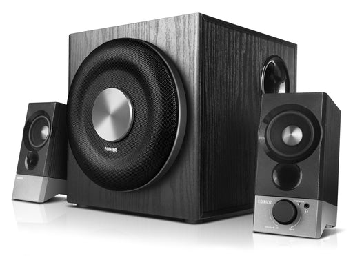 Edifier M3600D 2.1 THX Certified Optical & AUX Multimedia Speaker System - Black - CM-M3600D