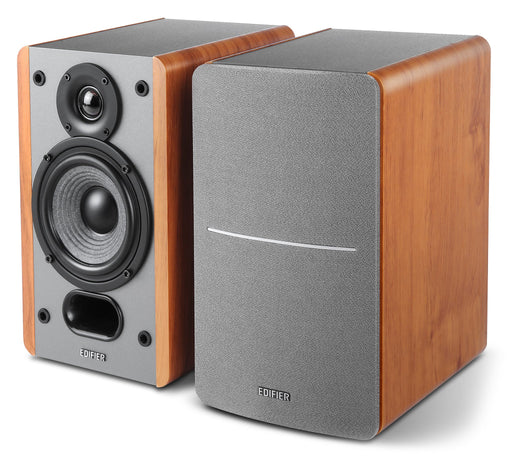 Edifier P12 Passive 2.0 Bookshelf Speaker Set - Brown - CM-P12