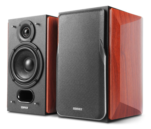 Edifier P17 Passive 2.0 Bookshelf Speaker Set - Brown - CM-P17