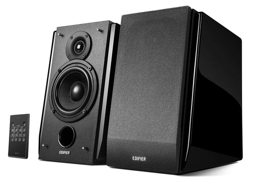 Edifier R1850DB Studio Active Bluetooth Bookshelf Speaker Set - Gloss Black - CM-R1850DB/GLOSS