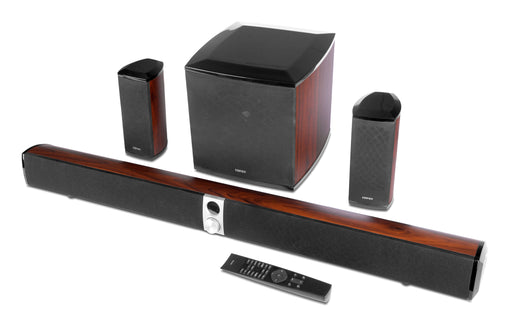 Edifier S90HD 4.1 Bluetooth, Optical & AUX Home Theatre System with Dolby & DTS - Wood Finish - CM-S90HD