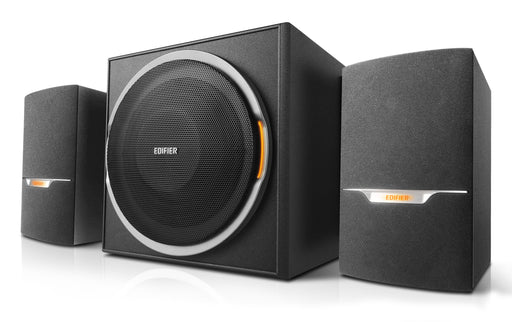 Edifier XM3BT 2.1 Multimedia Bluetooth Speaker System - With USB & SD Card Inputs - Black - CM-XM3BT