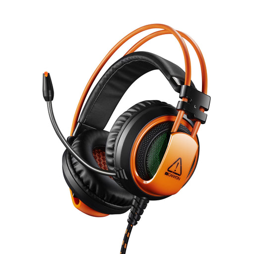 Canyon 3.5mm Jack Pro Level Gaming Headset With Microphone - Orange - CND-SGHS5A