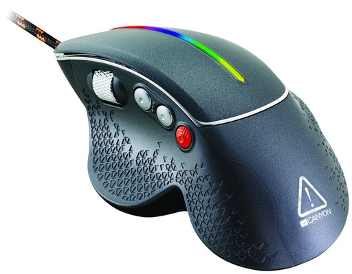 Canyon Apstar 6400DPI 6 Button RGB Gaming Mouse - CND-SGM12RGB