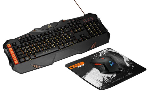 Canyon Leonof Keyboard/Mouse/Mouse Mat Gaming Set - CND-SGS01