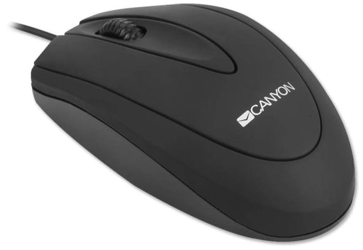 Canyon USB Wired Optical Mouse - Black - CNE-CMS1
