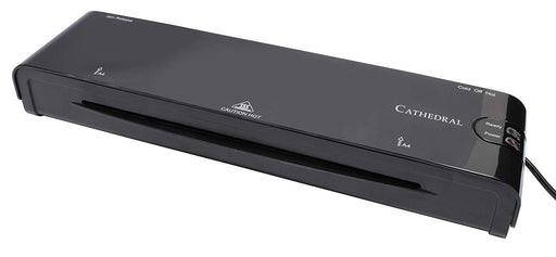 Cathedral Office A4 Laminator Black - CATH-LM400/BLK