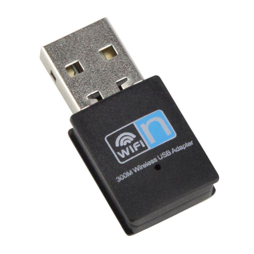 Jedel Nano 802.11N 300Mbps Wireless USB Adapter - WL-JED-300