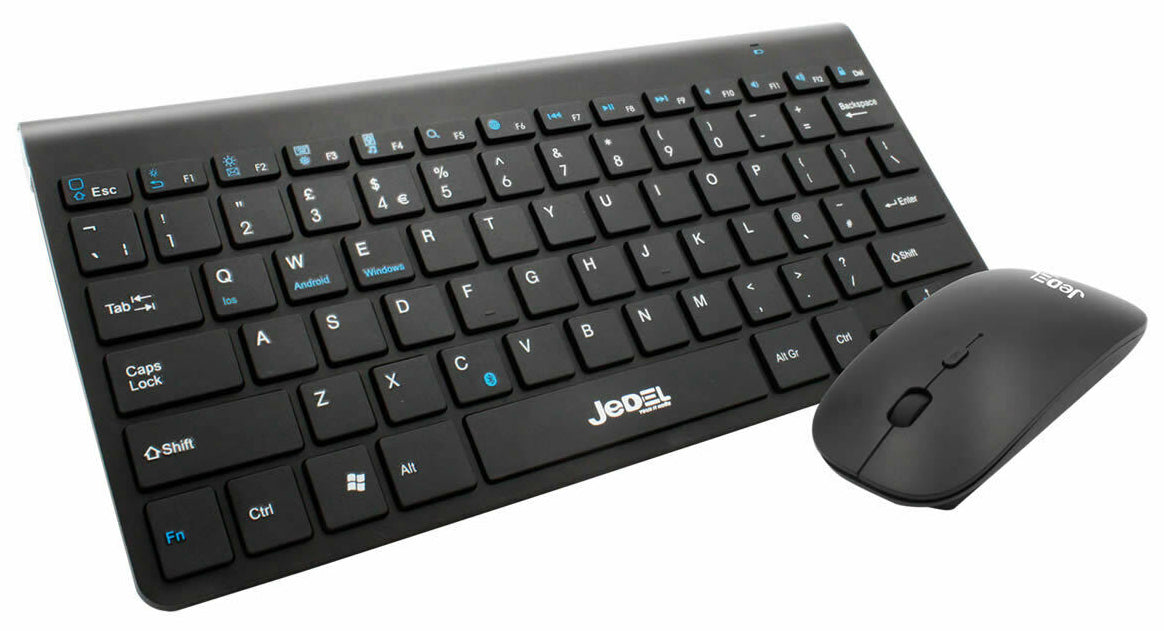 Jedel WS620 Bluetooth Wireless Keyboard And Mouse Set - KB-JED-WS620