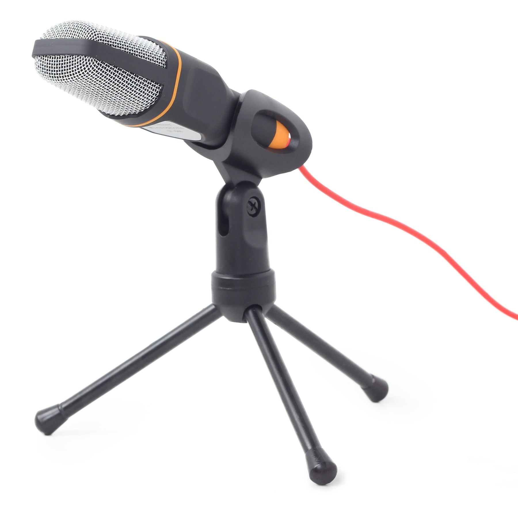 Gembird Desktop Microphone With Tripod - Black - MIC-DESK-01