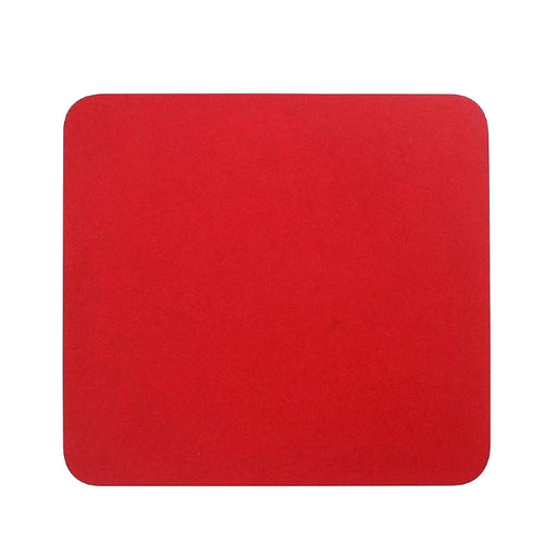 Cloth Mouse Mat - RED - MP-RED