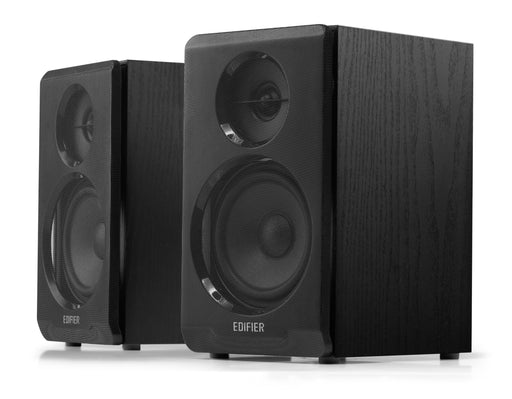 Edifier R33BT Active Bluetooth Bookshelf Speaker Set - Black - CM-R33BT