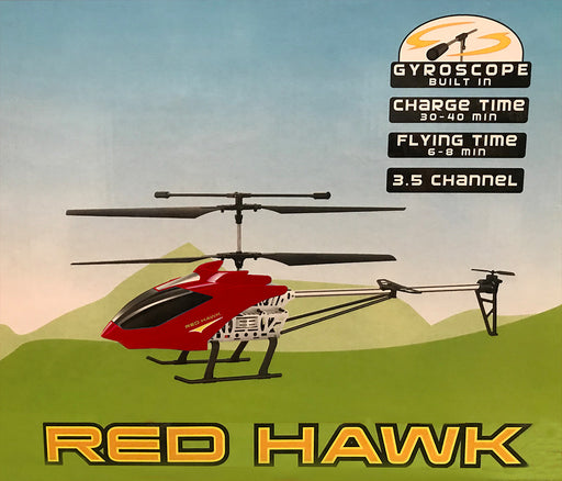Red Hawk R/C Helicopter - RC-9669-RHAWK