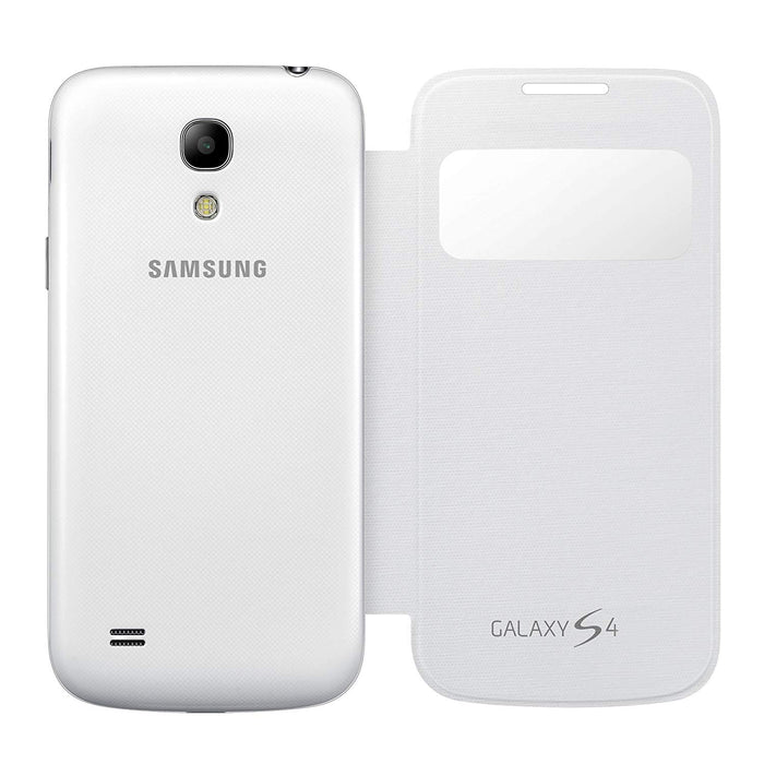 Samsung S View Case for Galaxy S4 - White - SAM-GS4-VIEW/WHT