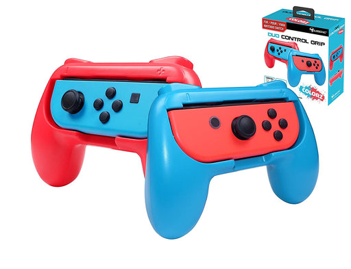 Subsonic Duo Control Grips For Nintendo Switch Joy-Cons - Blue & Red - SUB-5490